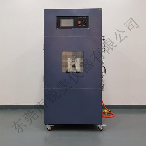 电池燃烧试验机喷射实验操作方法