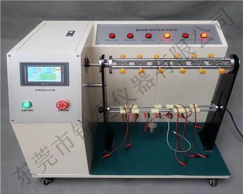 线材弯折试验机怎么测