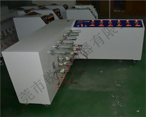 360度线材弯折试验机使用
